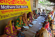 A Mother's Club meeting in Gobindohuda village receives nutrition training from an employee of IFB. meetings. There are around 900 mothers clubs in the region improving the lives of an estimated 50,000 children. .Impact Foundation Bangladesh (IFB) provides care, support and treatment to people with disabilities in Bangladesh.