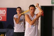 Ritiro per la preparazione ad Eurobasket 2007 Allenamento<br /> laura macchi