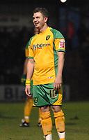 Photo: Ashley Pickering/Sportsbeat Images.<br /> Colchester United v Norwich City. Coca Cola Championship. 15/12/2007.<br /> Jamie Cureton of Norwich finds the Colchester fans chants amusing
