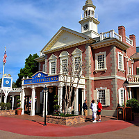 Hall of Presidents in Liberty Square at Magic Kingdom in Orlando, Florida<br />