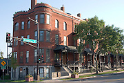 Condominiums located in regentrified Irvine Park. St Paul Minnesota USA
