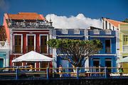 Canavieiras_BA, Brasil...Fachada de casas em Canavieiras, Bahia...The houses facade in Canavieiras, Bahia...Foto: LEO DRUMOND / NITRO