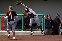 22 April 2017:  Mary Stephens during a Missouri Valley Conference (MVC) women's softball game between the Missouri State Bears and the Illinois State Redbirds on Marian Kneer Field in Normal IL