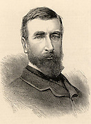 Redvers Henry Buller (1839-1908) British soldier. Served in the Ashanti, Kaffir and Zulu Wars.  Won the Victoria Cross at Onhlobane (1879). Promoted to Lieutenant-General in 1894. In the 2nd Boer War be raised the siege of Ladysmith (1900). From 'The Illustrated London News' (London, 1879).