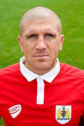 Adam El-Abd poses for a head shot - Photo mandatory by-line: Rogan Thomson/JMP - 07966 386802 - 04/08/2014 - SPORT - FOOTBALL - BCFC Training Ground, Failand - Bristol City, 2014/15 Team Photos.