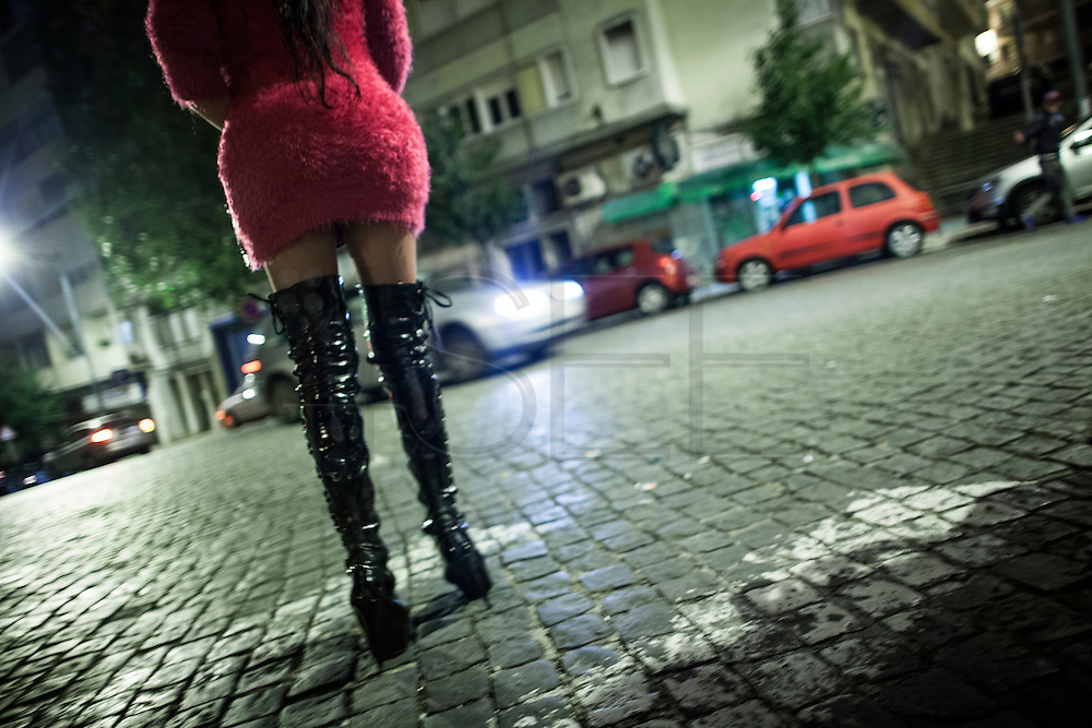 travestite Kassandra, work in the street Conde Redondo in Lisbon, an area where most of the transvestites work