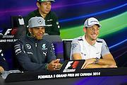 Canadian Grand Prix 2014, Lewis Hamilton (GBR), Mercedes Petronas, Jenson Button (GBR), McLaren-Mercedes