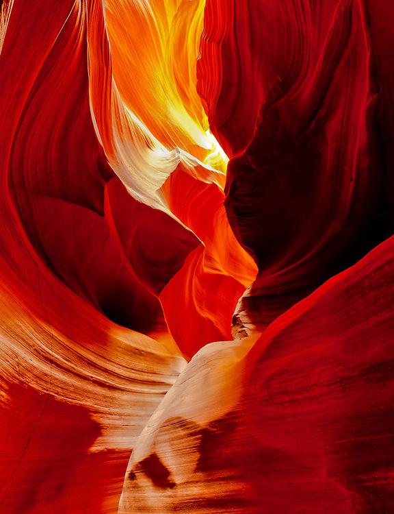 Upper Antelope Canyon Vibrant Walls