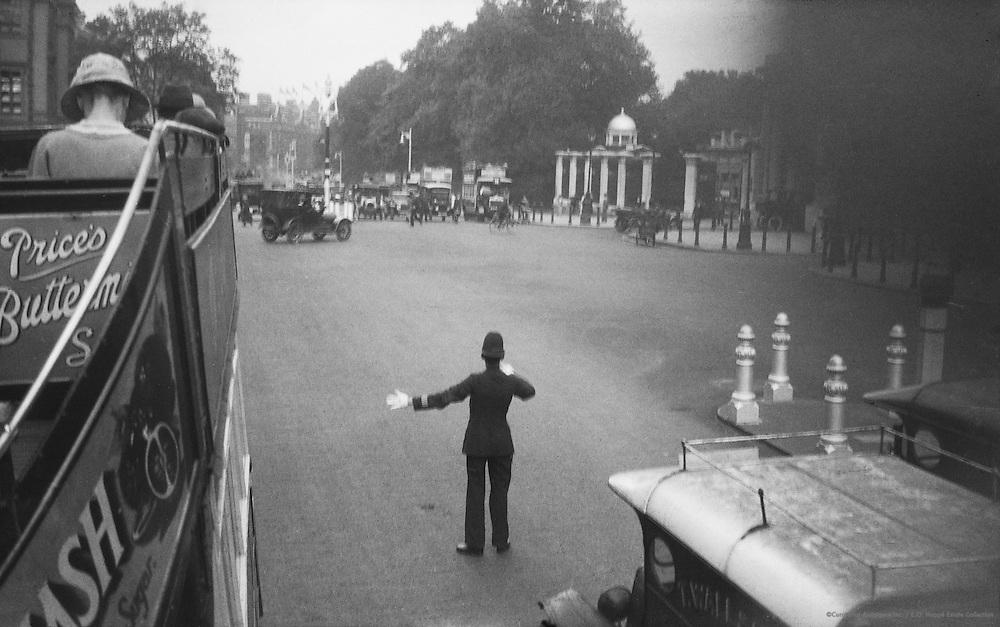 Traffic Policeman, London, 1918