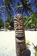 Tiki, Rangiroa, French Polynesia<br />