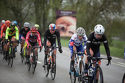 Chantal Blaak (NED) of Boels-Dolmans Cycling Team rides near the front during the Liege-Bastogne-Liege Femmes - a 138.5 km road race, between Bastogne and Liege on April 28, 2019, in Wallonie, Belgium. (Photo by Balint Hamvas/Velofocus.com)