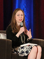 October 8, 2019, Philadelphia, PA, United States: Chelsea Clinton and Hillary Clinton promoted their book ''Gutsy Women'' at the National Constitution Center on October 7 2019 in Philadelphia, PA  (Credit Image: © William T Wade Jr/Ace Pictures via ZUMA Press)