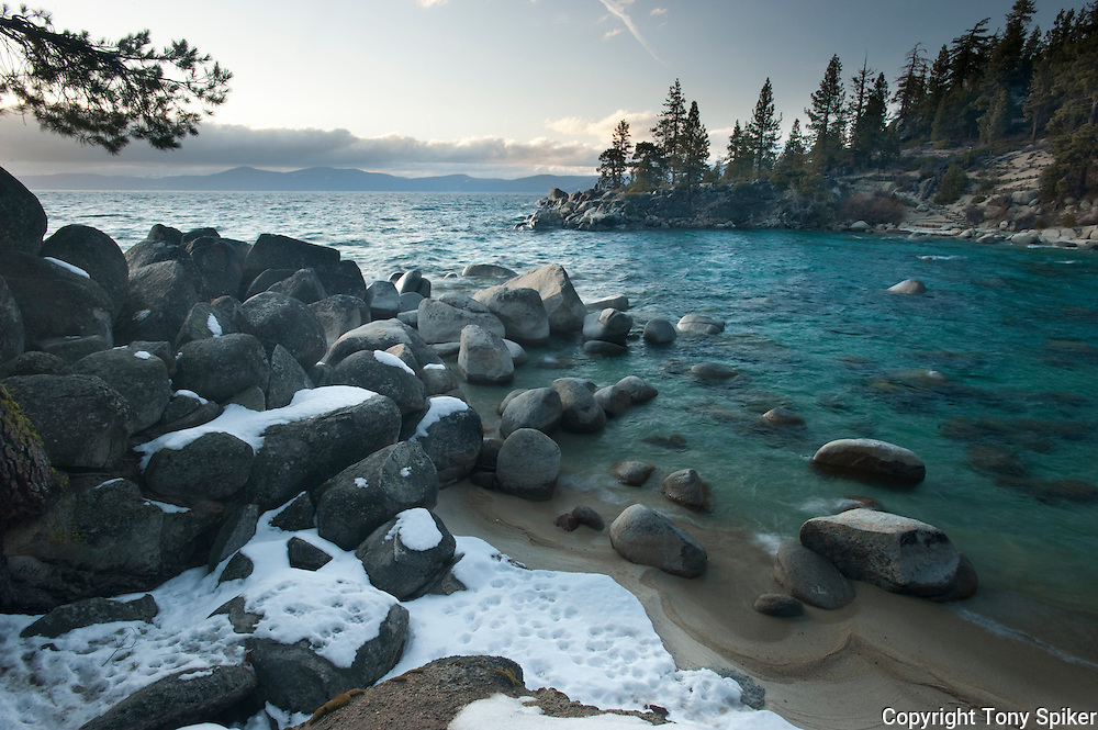 """Secret Harbor 1"" - An evening at Secret Harbor, on Lake Tahoe's Eastern shore"