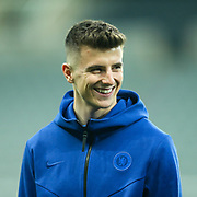Mason Mount (#19) of Chelsea ahead of the Premier League match between Newcastle United and Chelsea at St. James's Park, Newcastle, England on 18 January 2020.