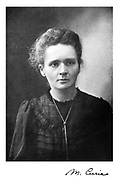 Marie Curie (1867-1934) Polish-born French physicist. Picture published 1917