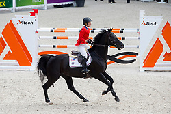 Beezie Madden, (USA), Cortes C - Team & Individual Competition Jumping Speed - Alltech FEI World Equestrian Games™ 2014 - Normandy, France.<br /> © Hippo Foto Team - Leanjo De Koster<br /> 02-09-14