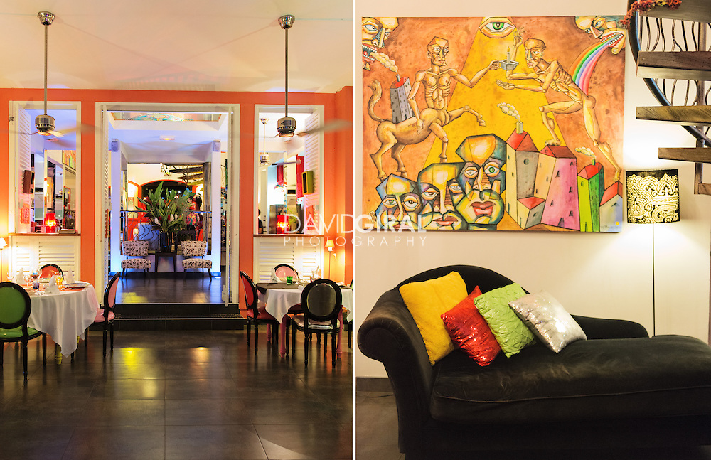 interiors Photography: Hotel lobby at Suite Villa Luxury hotel in Trois Ilets, Martinique, France