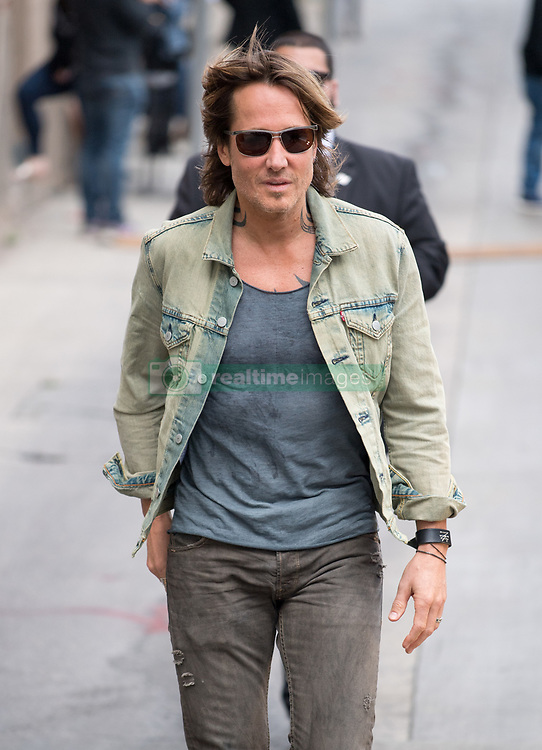 Keith Urban is seen at 'Jimmy Kimmel Live' in Los Angeles, California. NON EXCLUSIVE April 30, 2018. 30 Apr 2018 Pictured: Keith Urban. Photo credit: RB/Bauergriffin.com/MEGA TheMegaAgency.com +1 888 505 6342