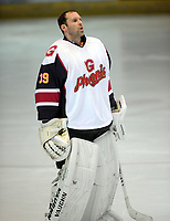 Ice Hockey - 2019 / 2020 National Ice Hockey League (NIHL) South West 2 (Wilkinson) - Guildford Phoenix vs. Cardiff Fire<br /> <br /> Petr Cech of Guildford Phoenix , at Guildford Spectrum.<br /> Ex Footballer  Petr who played for Chelsea and Arsenal<br /> <br /> COLORSPORT/ANDREW COWIE