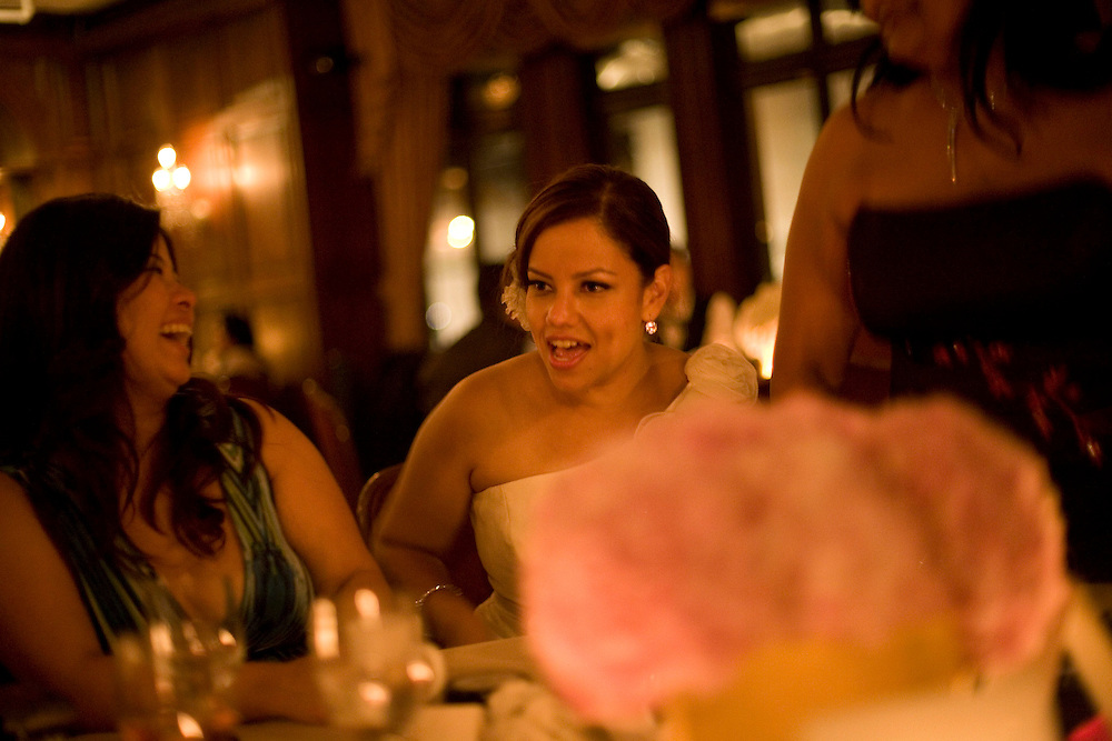 Melissa and Delio's wedding. August 28, 2010. Queens and Manhattan , NY. Guests included, Trang and Joanne.