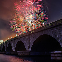 Fireworks on the National Mall
