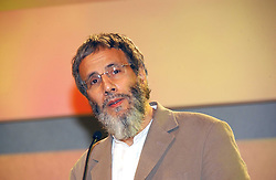 YUSUF ISLAM formerly known as Cat Stevens at the Fortune Forum Dinner held at Old Billingsgate, 1 Old Billingsgate Walk, 16 Lower Thames Street, London EC3R 6DX<br />