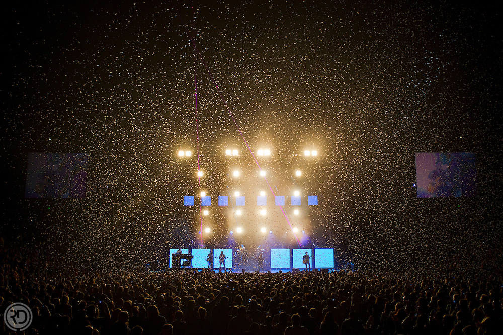 Journey Performs at the Bridgestone Arena in Nashville, TN on September 13, 2011..Photograph © Ross Dettman