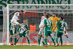28.02.2015, Ernst Happel Stadion, Wien, AUT, 1. FBL, SK Rapid Wien vs SK Puntigamer Sturm Graz, 22. Runde, im Bild Simon Piesinger (SK Puntigamer Sturm Graz) , Roman Kienast (SK Puntigamer Sturm Graz) , Deni Alar (SK Rapid Wien) , Jan Novotna (SK Rapid Wien) und Thanos Petsos (SK Rapid Wien) // during Austrian Football Bundesliga Match, 22th Round, between SK Rapid Vienna and FK Austria Vienna at the Ernst Happel Stadion, Wien, Austria on 2015/02/28. EXPA Pictures © 2015, PhotoCredit: EXPA/ Alexander Forst