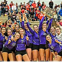 11.1.2014 Jackson vs Wadsworth Girls Varsity Volleyball