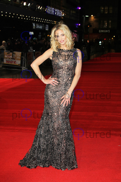 Sarah Harding, Run For Your Wife - World Film Premiere, Odeon Cinema Leicester Square, London UK, 05 February 2013, (Photo by Richard Goldschmidt)