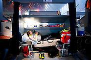 wielrenner Filippo ('Pippo') Pozzato  tijdens de Zesdaagse van Rotterdam