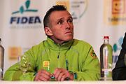 BELGIUM / TELENET FIDEA CYCLING TEAM / CYCLOCROSS / VELDRIJDEN / 2012-2013 / PRESS CONFERENCE / PERSCONFERENTIE NAAR AANLEIDING VAN HET BK / DANNY DE BIE /