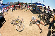 GORDON'S BAY, SOUTH AFRICA - Urs Huber of Team Stockli during stage one of the Absa Cape Epic Mountain Bike Stage Race held between Gordon's Bay and Villiersdorp on the 22 March 2009 in the Western Cape, South Africa..Photo by Gary Perkin   /SPORTZPICS