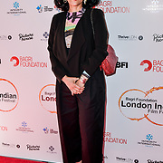 Dr Alka Bagri of Bagri Foundation Tittle Sponsor arrives at London Indian Film Festival world premiere of Anubhav Sinha's 'Article 15' at Picturehouse Central, on 20 June 2019, London , UK.