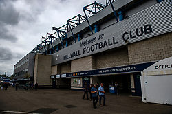 A general view of The Den, home of Millwall