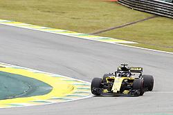 November 9, 2018 - Sao Paulo, Sao Paulo, Brazil - Nov, 2018 - Nico Hulkenberg - Renault. Free practice of Formula One Grand Prix Brazil at the José Carlos Pace racetrack (Interlagos) in the city of Sao Paulo. Sao Paulo, Brazil, November 9, 2018. (Credit Image: © Marcelo Chello/ZUMA Wire)