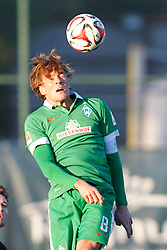 09.01.2015, Hotel Regnun Carya, Belek, TUR, FS Vorbereitung, Fussball Testspiel, SV Werder Bremen vs FC Energie Cottbus, im Bild Kapitaen Clemens Fritz (SV Werder Bremen #8) bei einem Kopfball // during a international football frindly match between SV Werder Bremen vs FC Energie Cottbus at the Hotel Regnun Carya in Belek, Turkey on 2015/01/09. EXPA Pictures © 2015, PhotoCredit: EXPA/ Eibner-Pressefoto/ Schueler<br /> <br /> *****ATTENTION - OUT of GER*****