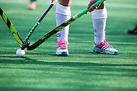 BLOEMENDAAL-HOCKEY -  hoofdklasse hockeywedstrijd tussen de dames van Bloemendaal en Den Bosch (1-5). COPYRIGHT KOEN SUYK