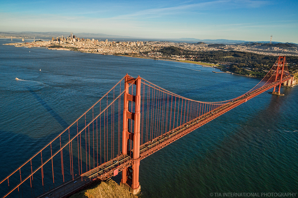 Golden Gate Bridge & City of San Francisco