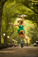Dance As Art Central Park Series with Jessica Lee Goldyn- shoes by LaDuca.
