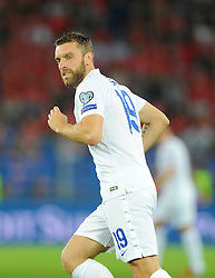 England's Rickie Lambert (Liverpool) - Photo mandatory by-line: Joe Meredith/JMP - Mobile: 07966 386802 - 08/09/14 - SPORT - FOOTBALL - Switzerland - Basel - St Jacob Park - Switzerland v England - Uefa Euro 2016 Group E Qualifier