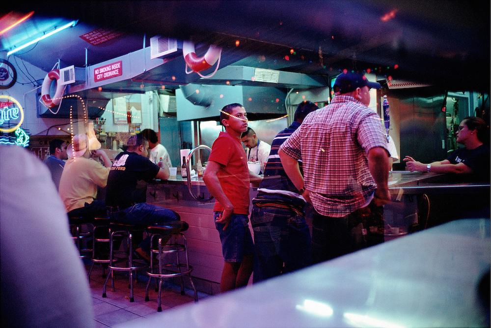 Bar and Diner. Dallas, Texas, USA.