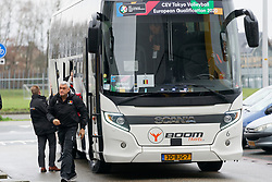 09–01-2020 NED: Olympic qualification tournament women, Apeldoorn<br /> Croatia - Belgium / Head coach Gert van de Broek