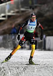 04.01.2012, DKB-Ski-ARENA, Oberhof, GER, E.ON IBU Weltcup Biathlon 2012, Staffel Frauen, im Bild Tina Bachmann (GER) // during relay Ladies of E.ON IBU World Cup Biathlon, Thüringen, Germany on 2012/01/04. EXPA Pictures © 2012, PhotoCredit: EXPA/ nph/ Hessland..***** ATTENTION - OUT OF GER, CRO *****