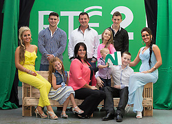 Repro Free: 11/09/2014<br /> The McDonagh family from meet the McDonaghs pictured at the RT&Eacute; Two New Season Launch in Gateway House, Capel Street. Picture Andres Poveda