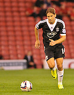 Picture by Richard Land/Focus Images Ltd +44 7713 507003<br /> 27/08/2013<br /> Gaston Ramirez of Southampton in action during the Capital One Cup match at Oakwell, Barnsley.