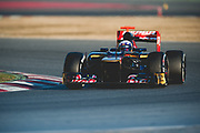 February 21, 2012: Formula One Testing, Circuit de Catalunya, Barcelona, Spain. Daniel Ricciardo, Toro Rosso-Ferrari STR7