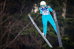 Julia Clair (FRA) during 1st Round at Day 1 of FIS Ski Jumping World Cup Ladies Ljubno 2018, on January 27, 2018 in Ljubno ob Savinji, Ljubno ob Savinji, Slovenia. Photo by Ziga Zupan / Sportida