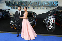 Sam Claflin, Laura Haddock, Transformers: The Last Knight - Global Premiere, Leicester Square Gardens, London UK, 18 June 2017, Photo by Richard Goldschmidt