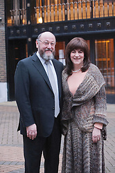 The UK's Chief Rabbi elect Rabbi Ephraim Mirvis and his wife Valerie at the St. John's Wood Synagogue in London, Wednesday, 19th December 2012  Photo by: i-Images